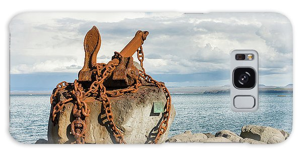 Rusty Chain Galaxy Case - Keflavik On Reykjanes Peninsula by Martin Zwick
