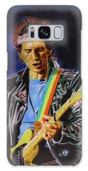 Keith Richards Of Rolling Stones Galaxy Case