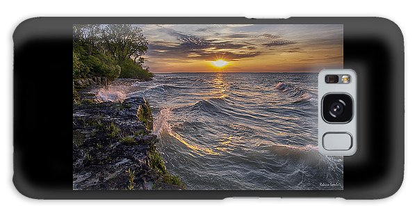 Kelleys Island At Sunset Galaxy Case