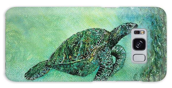 Kelp Forest Sea Turtle Galaxy Case