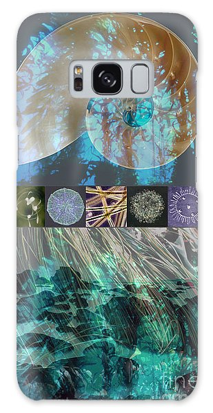 Reef Diving Galaxy Case - Kelp Forest by Ursula Freer