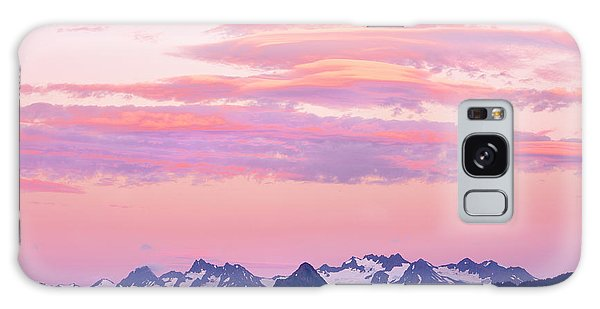 Ecosystem Galaxy Case - Kenai Mountains At Sunrise by Tom Norring