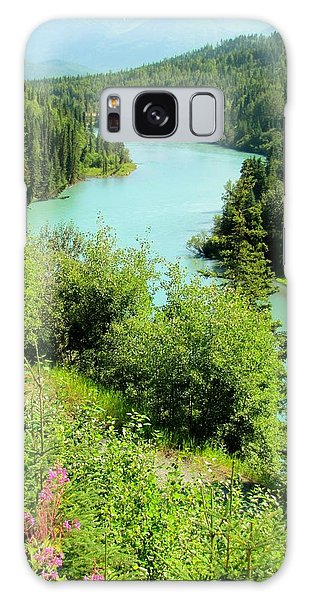 Kenai River Galaxy Case