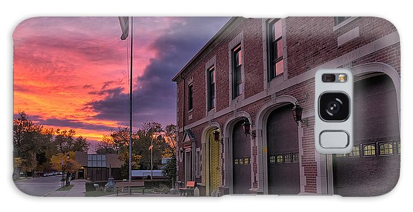 Kenmore Fire Hall Sunset Galaxy Case