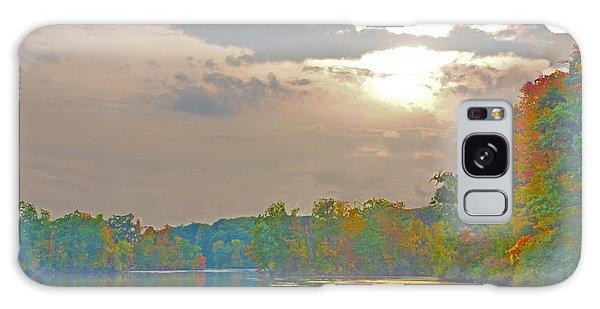 Kensington Autumn Sunset Galaxy Case