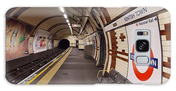 Kentish Town Tube Station Galaxy Case by Nicky Jameson