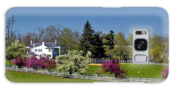 Kentucky Horse Farm Galaxy Case by Randall Branham