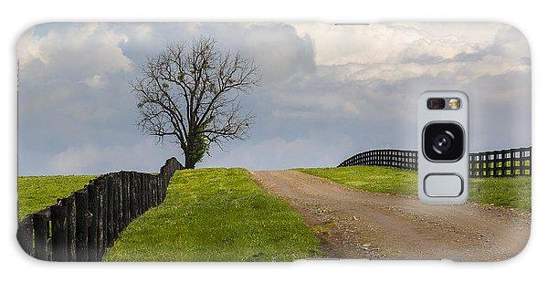 Kentucky Horse Farm Road Galaxy Case