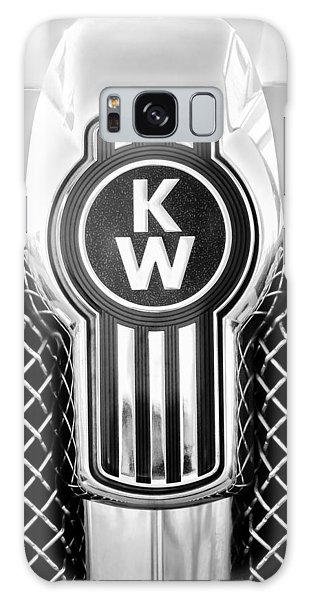 Kenworth Truck Emblem -1196bw Galaxy Case
