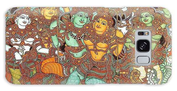 Kerala Mural Painting Galaxy Case