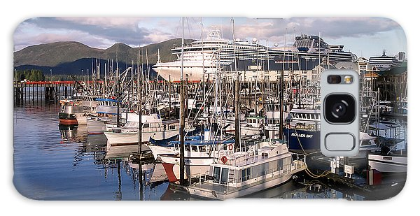 Ketchikan Alaska Evening Galaxy Case
