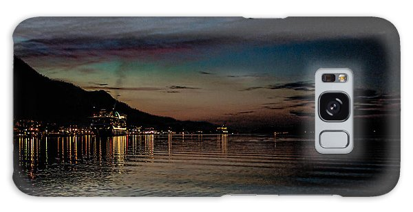 Ketchikan Sunrise With Ships Galaxy Case