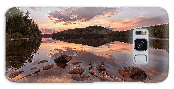 Kettle Pond Sunset Galaxy Case