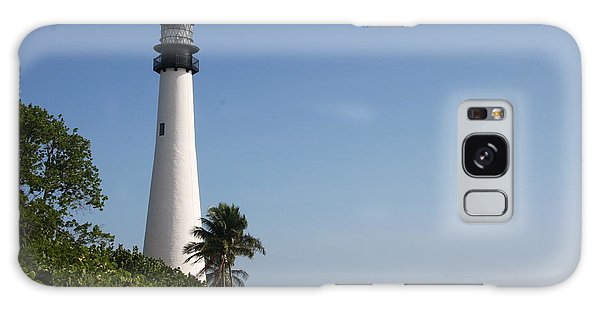 Key Biscayne Lighthouse Galaxy Case by Christiane Schulze Art And Photography
