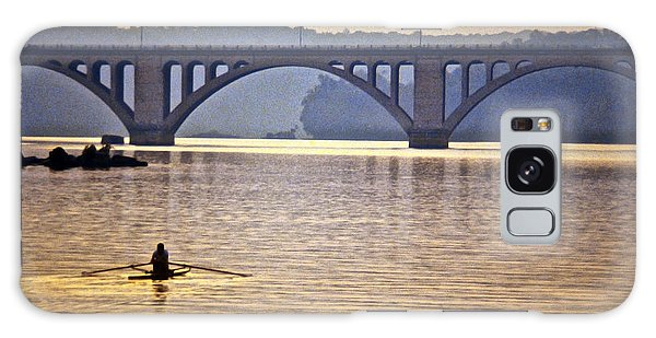 Key Bridge Rower Galaxy Case