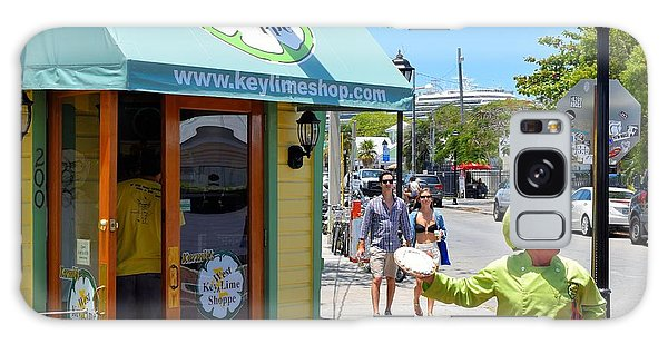 Key Lime Pie Man In Key West Galaxy Case