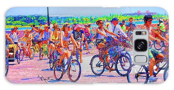 Key West Bike Ride Galaxy Case