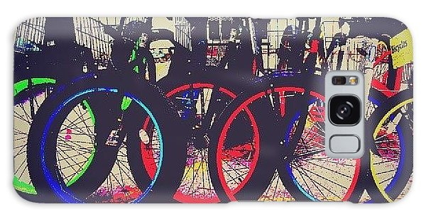 Decorative Galaxy Case - Key West Bikes For Rent by Dani Hoy