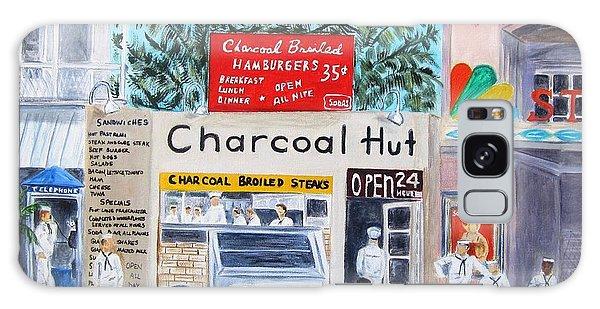 Key West Charcoal Hut Galaxy Case