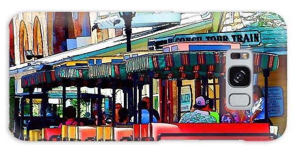 Key West Conch Train Galaxy Case by Pamela Blizzard
