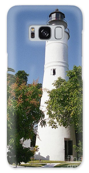 Key West Lighthouse Galaxy Case