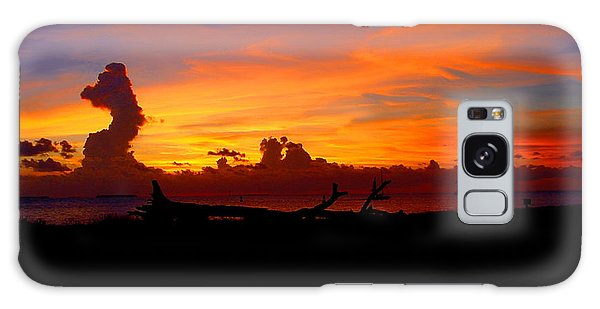 Key West Sun Set Galaxy Case by Iconic Images Art Gallery David Pucciarelli