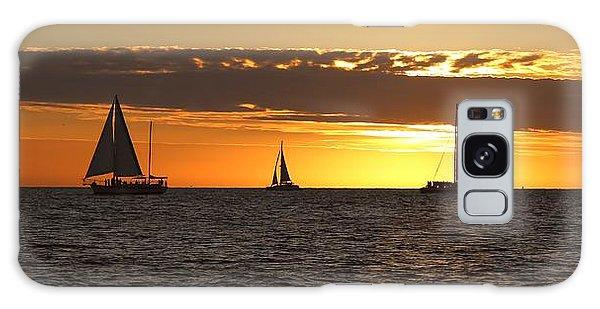 Key West Sunset Fleet Galaxy Case