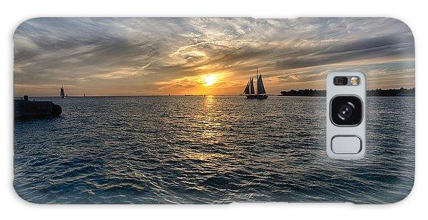 Key West Sunset Galaxy Case by John Hoey
