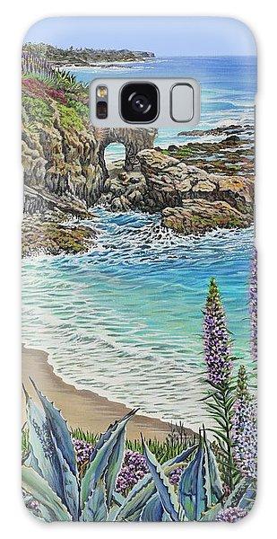 Keyhole Rock Laguna Galaxy Case by Jane Girardot