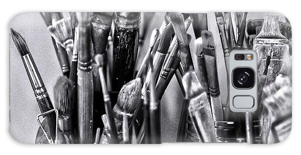 Keys To The Eye Of Life Bw By Denise Dube Galaxy Case