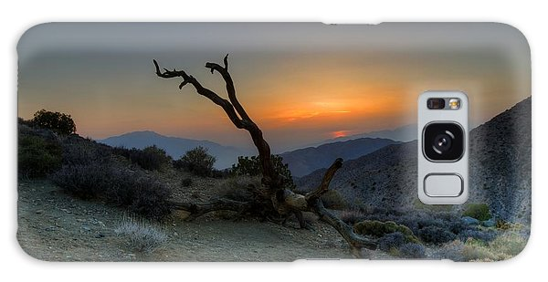 Keys View Sunset Galaxy Case by Dave Files