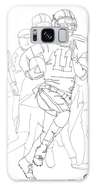 Kick Bama Kick Galaxy Case by Calvin Durham