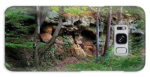 Kickapoo Rock Wall Galaxy Case