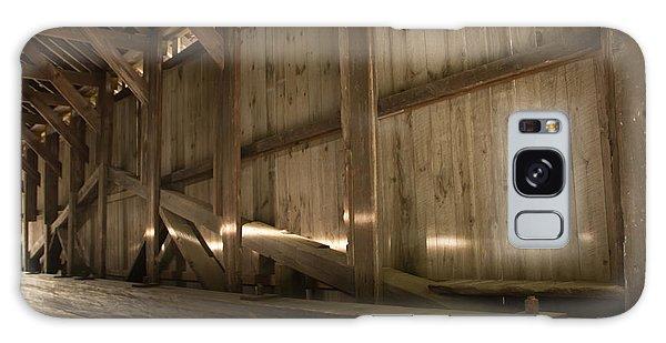 Kidder Hill Covered Bridge Interior Galaxy Case