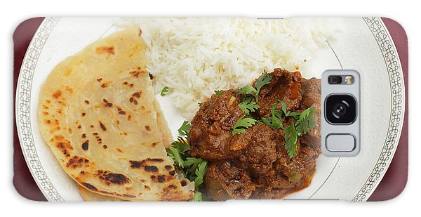 Kidney Masala Meal From Above Galaxy Case