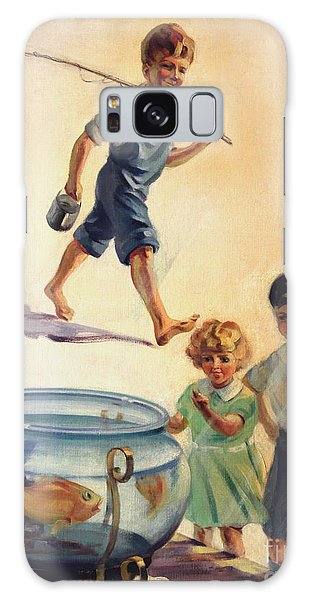 Kids And Fishing  1934 Galaxy Case