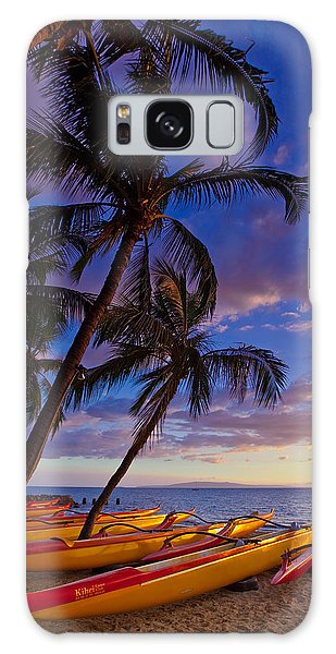Kihei Canoes Galaxy Case by James Roemmling