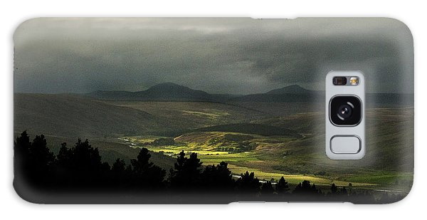 Kildonan Strath Northern Highlands Of Scotland Galaxy Case
