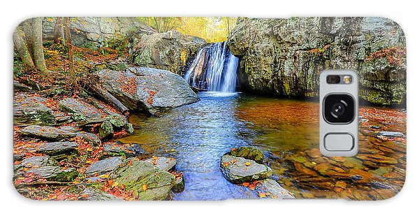 Kilgore Falls In Maryland In Autumn Galaxy Case