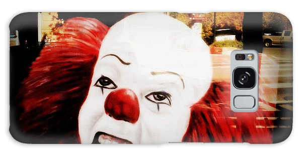 Killer Clowns On The Loose Galaxy Case by Kelly Awad