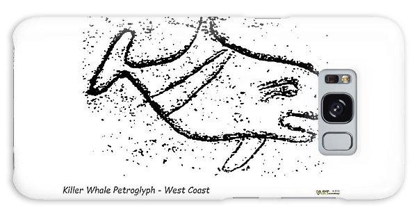 Killer Whale Petroglyph Galaxy Case