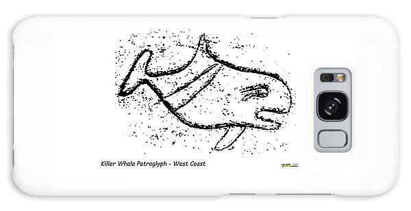 Killer Whale Petroglyph Galaxy Case