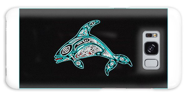 Killer Whale Totem Galaxy Case