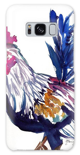 Kilohana Rooster Galaxy Case by Marionette Taboniar
