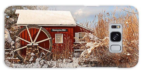 Kimberton Mill After Snow Galaxy Case