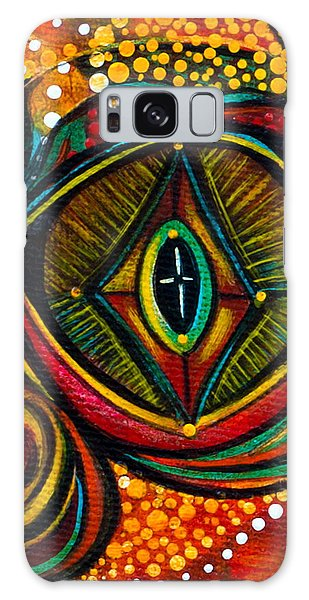 Kindness Spirit Eye Galaxy Case