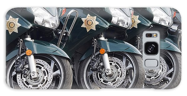King County Police Motorcycle Galaxy Case