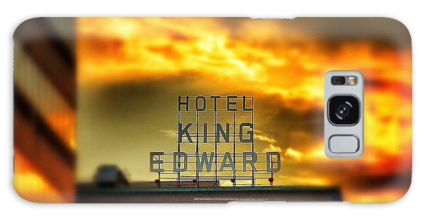 King Edward Hotel Sign At Sunset Galaxy Case