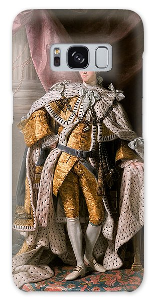 King George IIi In Coronation Robes Galaxy Case