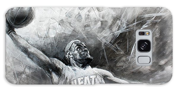 Basketball Galaxy Case - King James Lebron by Ylli Haruni
